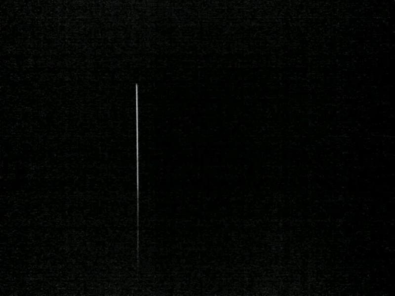 Dark hallway, no IR
